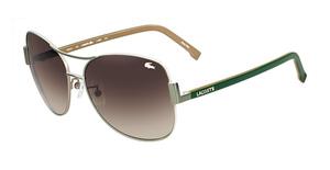 Lacoste L109S GREEN/SATIN BEIGE