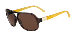 Lacoste L502S BROWN AND AMBER