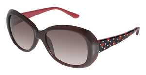 Lulu Guinness L535 Black Cherry