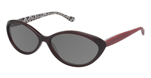 Lulu Guinness L524 Black Cherry
