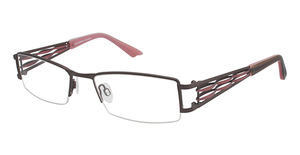Brendel 902102 BROWN/WITH PINK DECO