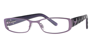 Daisy Fuentes Eyewear Daisy Fuentes Peace 412 Purple