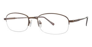 Haggar HFT056 Satin Brown