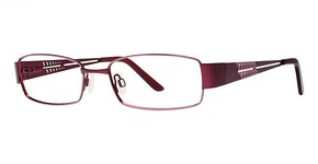 Modern Optical A318 matte rose/burgundy