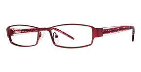 Modern Optical SHARI Matte Burgundy