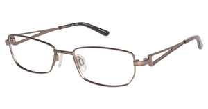 Charmant Titanium TI 10891 Brown Pink