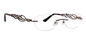 Totally Rimless TR 180 Brown