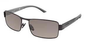 Columbia TALUS Matte Black/Dark Grey w/ Polarized Grey Lenses