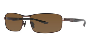 Columbia JET STREAM 400 Dark Brown/Black w/ Polarized Brown Lenses
