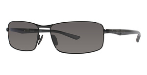 Columbia JET STREAM 400 Shiny Black/Black w/ Polarized Grey Lenses