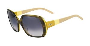 Lacoste L629S Havana Gree/Mustard
