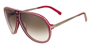 Lacoste L632S Burgundy/Red