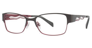 Aspex T9950 Satin Chocolate & Red
