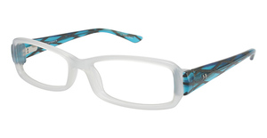 Humphrey's 583020 CLEAR WHITE/AQUA