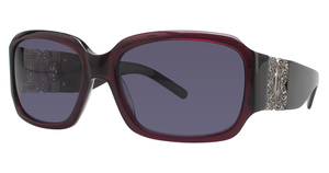 Jessica McClintock JMC 558 Burgundy Transparent