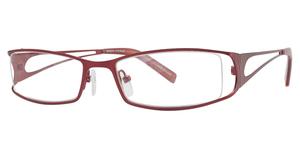Manzini Eyewear Manzini 48 Matte Red