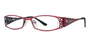 Modern Optical A307 Matte Burgundy/Black