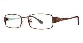 Modern Optical A321 matte brown/teal