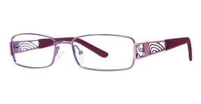 Modern Optical A319 matte purple/pink