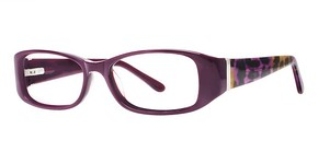 Modern Optical A322 Plum/Silver