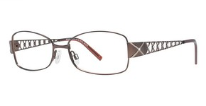Modern Optical A328 matte brown/light brown