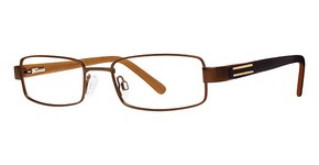 Modern Optical GVX508 Matte Brown/Gold