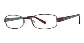 Modern Optical 10x223 matte brown/mint