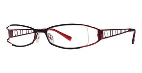 Modern Optical Viviana Matte Black/Burgundy