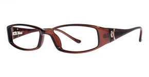 Modern Optical Elegant Brown/Gold