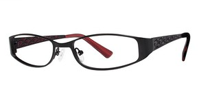 Modern Optical Isabel Matte Black/Red