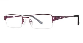 Modern Optical Cassie Matte Burgundy