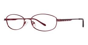Modern Optical Claire Burgundy