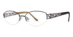 Modern Optical Fashion Brown/violet