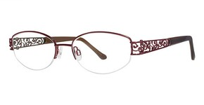 Modern Optical Fashion Burgundy/Brown