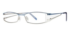 Modern Optical Delora Blue/Matte Silver