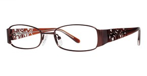 Modern Optical Runway Matte Brown
