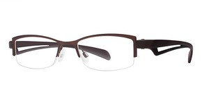 Modern Optical Opulent Matte Brown