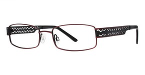 Modern Optical U754 Matte Burgundy/Black