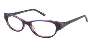 Lulu Guinness L844 Purple Tortoise