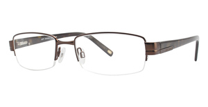 Jeff Banks Beacontree Satin Brown with Tortoise Temples