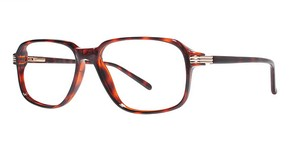 Modern Optical Rick Demi Amber/Gold