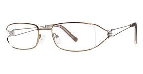 Modern Optical Flattery Brown
