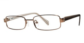 Modern Optical Quiz Matte Brown