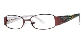 Modern Optical Honey Burgundy