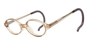 Modern Optical Twinkle Pastel Brown