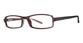 Modern Optical Hialeah Burgundy