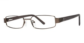 Modern Optical Bismarck Matte Brown