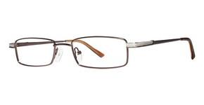 Modern Optical Arlington Matte Brown/Silver