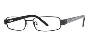 Modern Optical Bismarck matte black/pearl