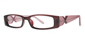 Modern Optical Bubbly Burgundy/Pink